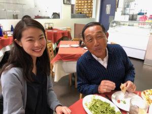 小板橋美穂さん:食事会